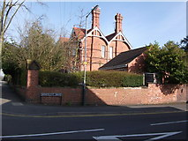 SP2871 : Priory Road/ Whateleys Drive junction, Kenilworth by John Brightley