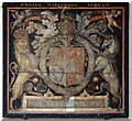 TF9624 : St Helen, Gateley, Norfolk - Royal Arms by John Salmon