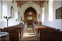 TF9624 : St Helen, Gateley, Norfolk - East end by John Salmon