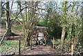 TQ7038 : Footbridge, High Weald Landscape Trail, Rectory Park by N Chadwick