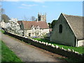 ST7461 : Manor Farm and the Church, South Stoke by James Ayres