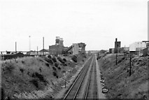NZ4539 : Site of Blackhall Colliery Station by Ben Brooksbank