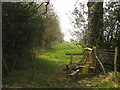 TQ6934 : Stile beside Shearnfold Wood by David Anstiss