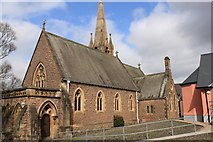 NN1073 : St Andrew episcopal church by edward mcmaihin