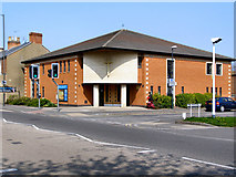 SK3336 : Ashbourne Road Church by David Dixon