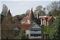 TQ4541 : Oast House at Leighton Manor Farm, Spode Lane, Cowden, Kent by Oast House Archive