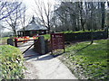 SX0864 : Entrance to Lanhydrock House estate. by Colin Pyle