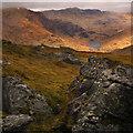NN2204 : Loch Restil from Ben Donich by Patrick Brown