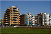 TQ2704 : Flats at Hove, Sussex by Peter Trimming