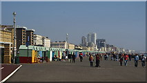 TQ2804 : King's Esplanade, Hove, Sussex by Peter Trimming
