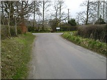 N9642 : Junction, Butlerstown, Co Meath by C O'Flanagan