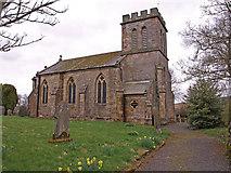 NY7287 : St Peters Church, Falstone by wfmillar