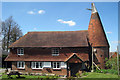 TQ7237 : Oast House at Ex Servicemens Club, The Plain, Goudhurst, Kent by Oast House Archive