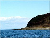 NS0531 : North end of Holy Isle by Gordon Brown