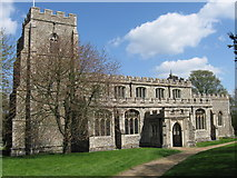 TL4731 : The parish church of St Mary & St Clement, Clavering, Essex by Derek Voller