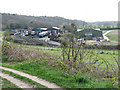 TG1141 : Weybourne station - yard and sheds by Evelyn Simak