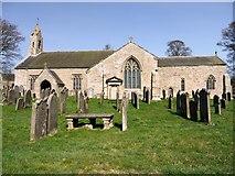 NY9393 : St Cuthbert's Parish Church, Elsdon by Andrew Curtis