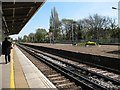 TQ2168 : New Malden station, looking east by Stephen Craven