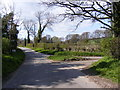 TM3166 : Low Road junction with Church Road, Bruisyard by Geographer