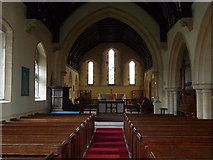 SU1734 : Winterbourne Earls - St Michael And All Angels by Chris Talbot