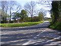 TM3365 : Bruisyard Road, Bruisyard by Adrian Cable