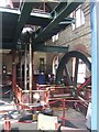 SJ4912 : Beam engine in Coleham Sewage Pumping Station by John M