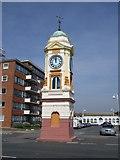 TQ7306 : Clock Tower by Paul Gillett