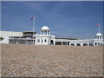 TQ7407 : View from Bexhill Beach by Paul Gillett