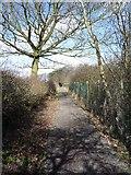 SE2853 : Ringway footpath by DS Pugh