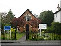 SU9567 : Sunningdale Baptist Church by don cload