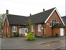 SU9567 : Sunningdale village hall by don cload