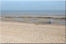 TQ9014 : Low tide at Winchelsea Beach by Julian P Guffogg