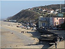 TG2142 : Seafront, Cromer by Dave Hitchborne