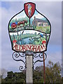 TM4460 : Aldringham Village Sign by Adrian Cable