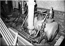 NJ9505 : Victoria Saw Mills, steam engine by Chris Allen