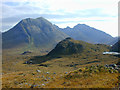 NG4726 : The lower part of Coire Riabhach by Nigel Brown