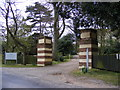 TM4460 : The Entrance to Aldringham Court by Adrian Cable