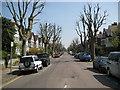 TQ2384 : Brondesbury: Dartmouth Road, NW2 by Nigel Cox