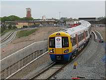 TQ3578 : Deptford Road Junction: first day of reopening by Stephen Craven
