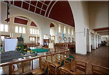 TQ1372 : St Augustine of Canterbury, Hospital Bridge Road, Whitten, London TW2 6DE - West end by John Salmon