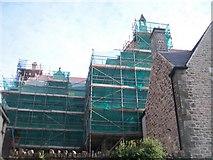 SH4862 : The Old British School undergoing renovation by Eric Jones