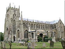 TF5520 : The church of St Clement, Terrington St Clement by Evelyn Simak