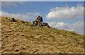NS9412 : A cairn on Doddin by Walter Baxter