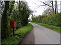 TM2767 : Severalls Lane, Maypole Green & Severalls Lane Postbox by Geographer