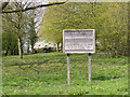 TM2665 : Sign of All Saints Church, Saxtead by Adrian Cable