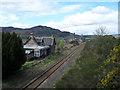 NH7085 : Edderton Station and Balblair distillery by Peter Moore