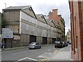 NZ2463 : Former British Rail Parcel Offices, Westgate Road by Andrew Curtis