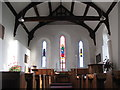 NY5674 : St. Cuthbert's Church Bewcastle - east end by Mike Quinn