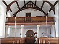 NY5674 : St. Cuthbert's Church Bewcastle - west end by Mike Quinn