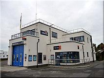 SZ3394 : RNLI Lifeboat Station, Lymington, Hampshire by Christine Matthews